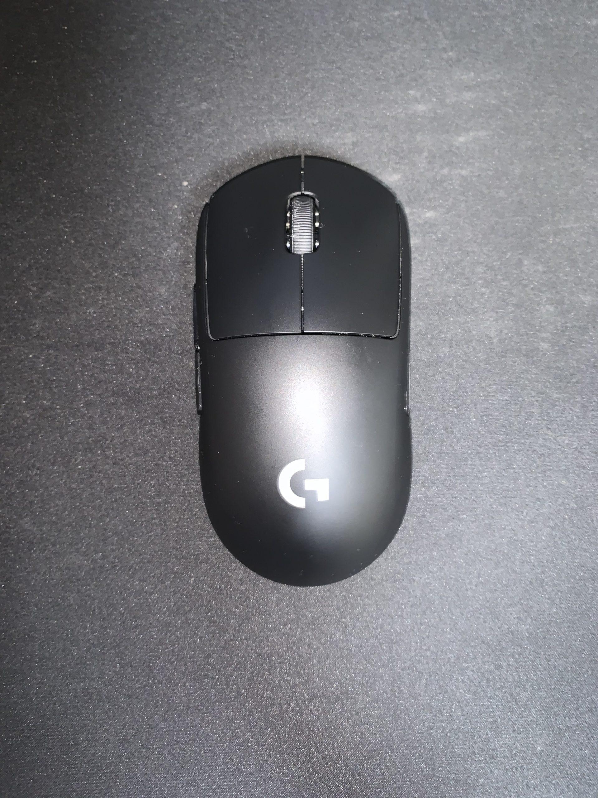 G Pro Wireless レビュー 左利き1