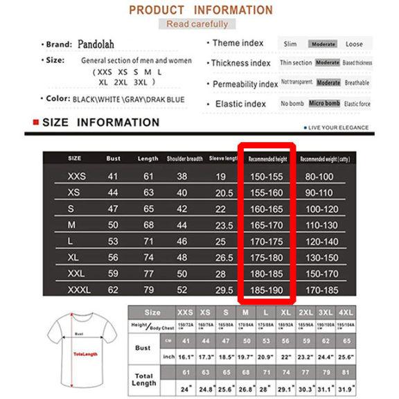 Apex Legends|Tシャツのサイズ