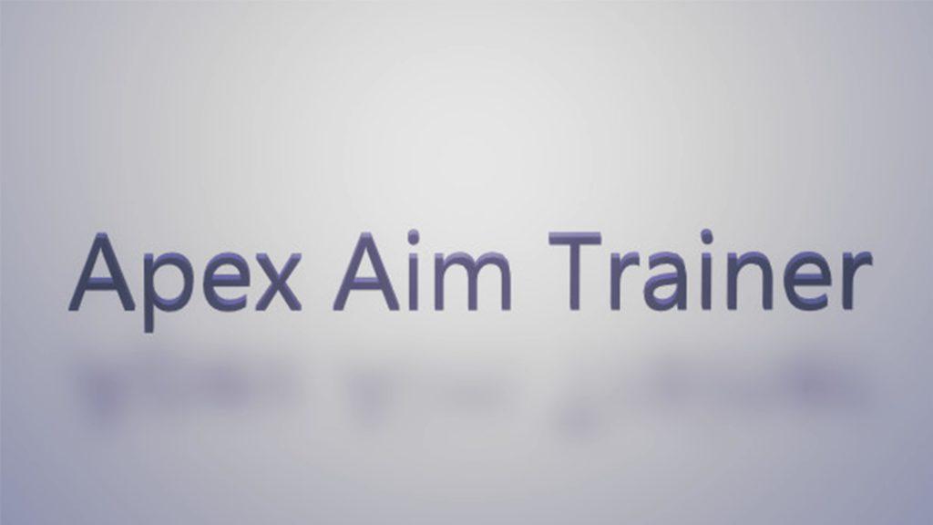 Apex Aim Trainer内でやるエイム練習方法